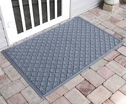 large front door matsRubber Door Mat with Grid Design  Water Glutton Cordova 34x52