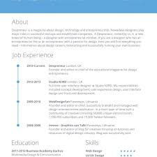 Quick Resume Template Delectable Easy Free Resume Template Free Quick And Easy Resume Template