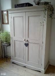 grey shabby chic bedroom furniture. pretty painted vintage shabby chic knockdown pine wardrobe grey bedroom furniture b