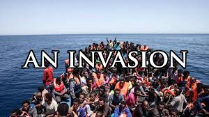 Image result for european invasion by migrants