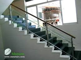 stair railing cost cost to install glass stair railing stair glass glass railing cost glass railing