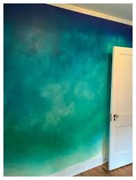 ombre wall wall bedroom ombre wall art