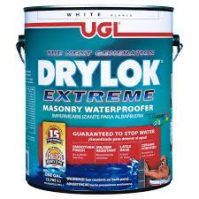 drylok low voc waterproof sealer white 1 gal 28613 ace hardware
