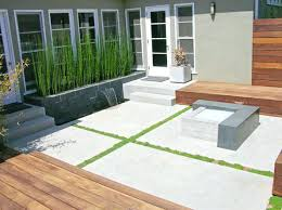modern concrete patio. Modern Patio Slabs Concrete Fire Feature Pit Dc West Construction Inc White L