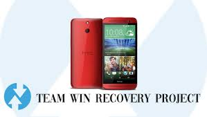 Install TWRP Recovery on HTC One E8