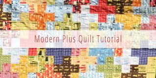 10 Free Fat Quarter Quilt Patterns & Projects & Modern Quilt Cross Quilt Tutorial Adamdwight.com