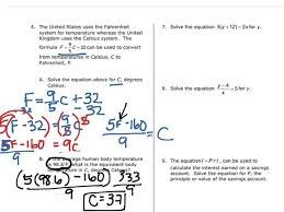 marvelous showme solve literal equations solving worksheet doc last thumb14413 solving literal equations worksheet worksheet large