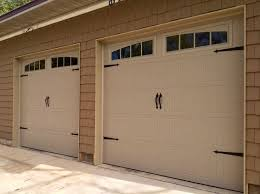 lovable decorative garage door hinges and thermacore premium insulated series 190 490 garage doors
