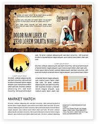 Christian Newsletter Templates In Microsoft Word Adobe
