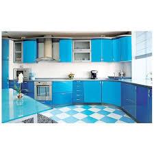 l shaped laminate kitchen