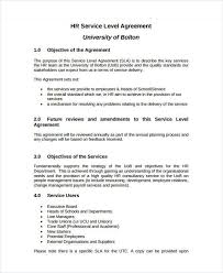Service Level Agreement Template 100 Service Level Agreement Templates Free Word PDF Documents 2
