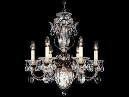 swarovski crystal lighting. Schonbek Bagatelle Seven-Light 21\u0027\u0027 Wide Chandelier Swarovski Crystal Lighting