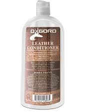 oxgord leather conditioner for shoes and upholstery 22 fl oz