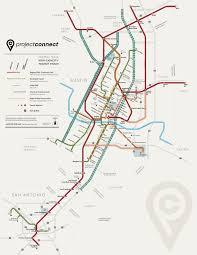 Austin 2000 Light Rail Austin Urban Rail In 7 Maps Kut