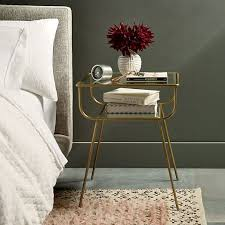 metal and glass nightstand. wonderful and curved terrace nightstand on metal and glass r