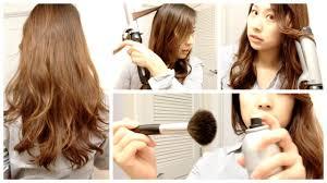 私の髪の巻き方 ゆるふわロングヘア Youtube