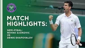 Novak Djokovic vs Denis Shapovalov ...