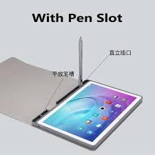 Tháo Rời Bàn Phím Bluetooth Không Dây Bút Chì Giá Đỡ Dành Cho Máy Tính Bảng  Huawei Mediapad M5 10 Pro 10.8 Có Màn Hình Bảo Vệ Bút Cảm Ứng Kiêm Bút