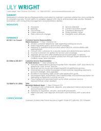 eye grabbing electrician resume samples   livecareercustomer service representative resume example