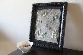 Diy Jewelry Holder Diy Picture Frame Jewelry Holder Diy Dry Pictranslator