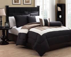 beautiful tan and black comforter sets cream bedding grand s 8 gold py79