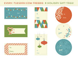 Free Holiday Gift Tags By Teela Cunningham On Dribbble