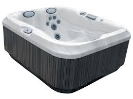 ... Small Jetted Tub Bathtub Sizes Dark Grey Soaking Whirpool Jacuzzi For Two  Persons ...