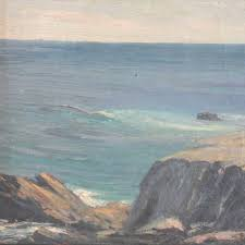 seascape oil painting after william ritschel 1864 1949