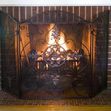 Southern Living At Home Collection Wellsey Fireplace Screen On