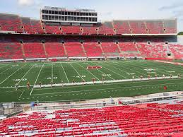 Wisconsin Camp Randall Seating Chart Camp Randall Stadium View From Lower Deck U Vivid Seats