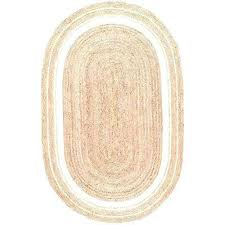 oval 5 x 8 jute area rugs rugs the home depot within 6x9 jute rug prepare