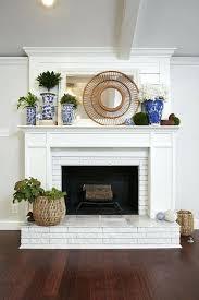 painted fireplace ideas best update brick fireplace ideas on painting painted brick fireplace surround ideas