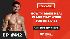 Bodybuilding Diet Chart For Men How To Make Meal Plans That Work For Any Diet