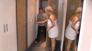 Milf and friends seduce delivery boy