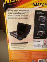 Nintendo Dsi Vs Dsi Xl Comparison Chart Nerf Armor Hard Shell Case For Nintendo Dsi Xl Blue Must
