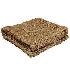 Sacks 100 Natural Burlap Landscape Fabric Home Depot Easy Gardener 80 In 80 In 100 Natural Burlap Landscape Fabric
