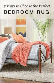 rug for bedroom. how to choose an area rug for your bedroom a