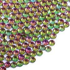 Broušené Kamínky Na Nehty Ss8 25 Mm Se Swarovski Efektem 20 Ks Rainbow
