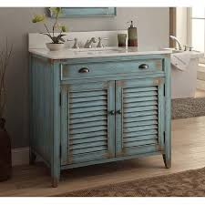 chans furniture cf 28884bu abbeville 36 inch distressed blue bathroom sink vanity cf 28884bu cf28884bu