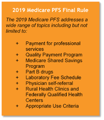 8 Minute Rule Medicare Chart Top 10 Takeaways 2019 Medicare Physician Fee Schedule