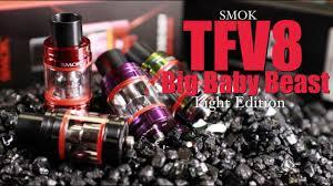 Tfv8 Big Baby Tank Light Edition Smok Tfv8 Big Baby Beast Light Edition Subohm Tank Review