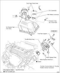 Toyota Camry: Throttle body assy (2AZ−FE) - Engine control system