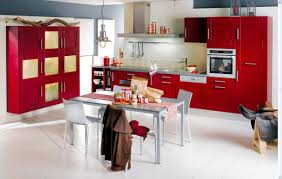 Red White Kitchen Kitchens With Red Walls And White Cabinets Home Furniture