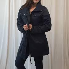 Yoki Jacket Coat Navy Xl Nwt