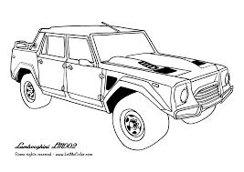 Coloring Cars Letmecolor