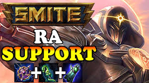 SUPPORT - Ra - Smite Support Gameplay ...