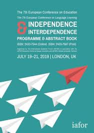 Ece Ecll 2019 Conference Programme Abstract Book By Iafor