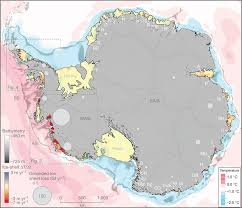 antarctic ice sheet growing glaciers and climate change antarctic glaciers