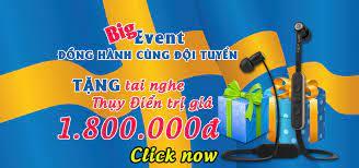 Give Away 6-2018] - Đồng Hành Cùng Đội Tuyển - TẶNG TAI NGHE THỤY ĐIỂN JAYS  trị giá 1.800.000đ