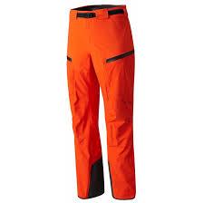 Mountain Hardwear Cloudseeker Bib Regular Orange Trekkinn